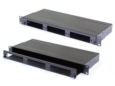 1U Rack Mount Patch Enclosure (21-MPO-1UP)